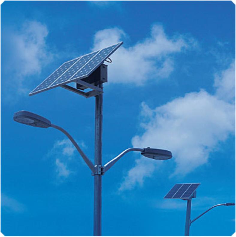 Solar Powered Pole Lights Part - 47: Solar-street-lights